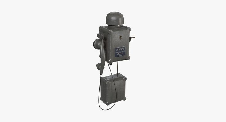 German Wall Telephone WWII 3D asset | CGTrader