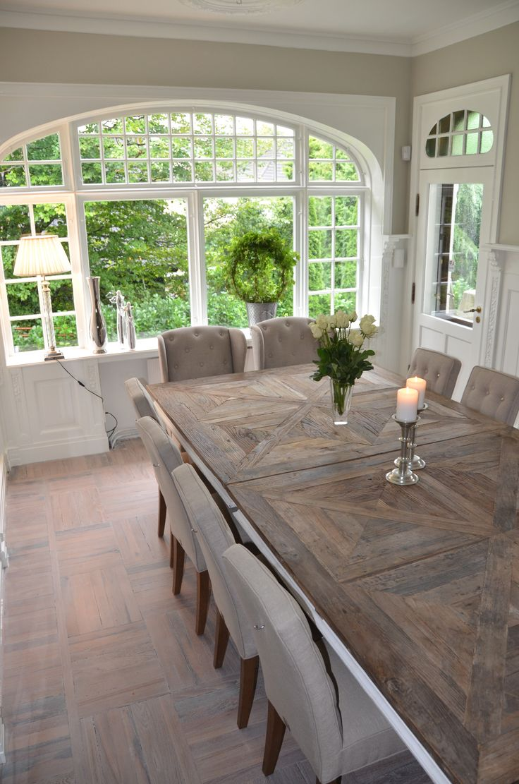 Best 25 Large Dining Room Table Ideas On Pinterest  Wood Dinning Fair Formal Dining Room Sets Dallas Tx Design Ideas