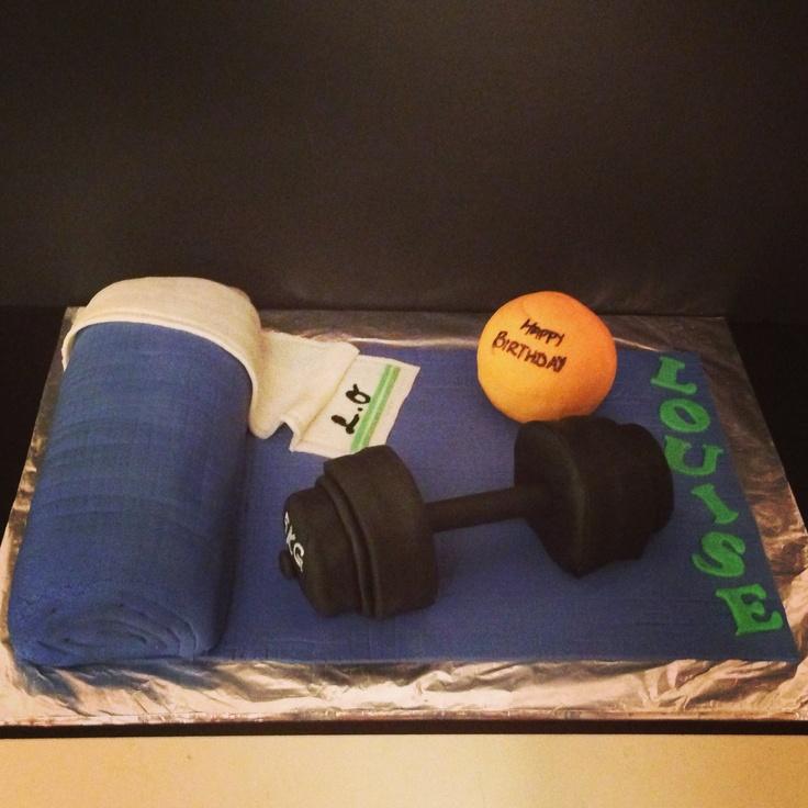 Trainer Birthday Cake