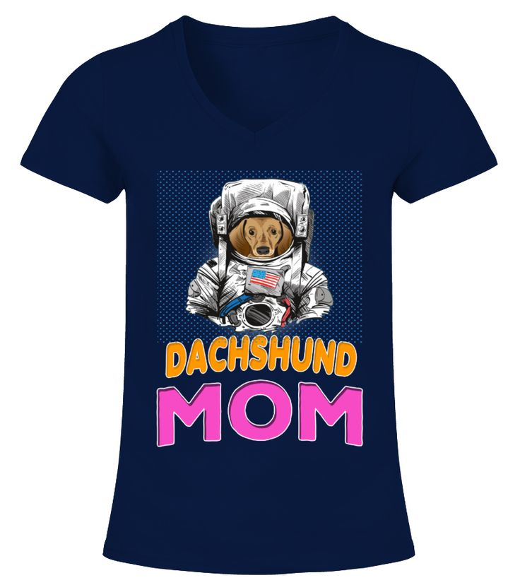 Dachshund Dog In Astronaut Suit Mom