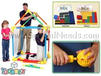 Toobeez Building Set | Gross Motor Skills | e-Special Needs