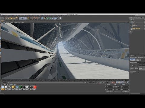 Cinema 4D Tutorial - How to Create a Space Colony 04 Staying Motivated - YouTube
