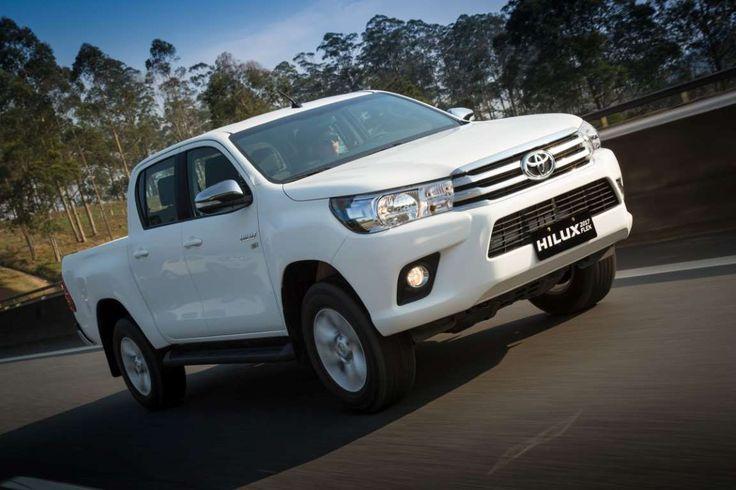3º- Toyota Hilux: 2.468 unidades – Foto: Divulgação - Foto: Divulgação