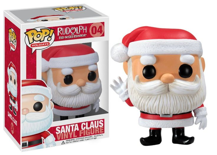 Pop! Movies: Rudolph the Red-Nosed Reindeer - Santa Claus