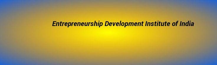 Entrepreneurship Development #Institute of India
