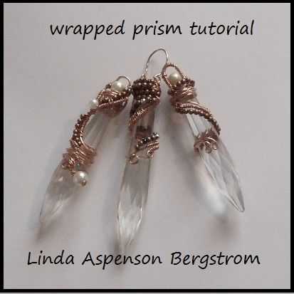Prisms In Wire | JewelryLessons.com NOTE:  TRY TO CREATE USING MACRAMÉ KNOTTING INSTEAD OF WIRE.