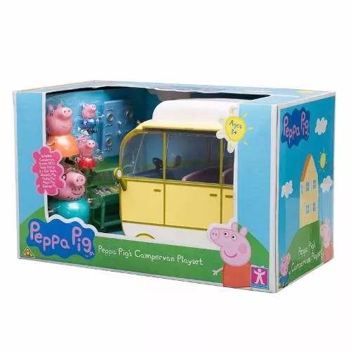 Peppa Pig Autocaravana Con Accesorios - $ 1.799,90