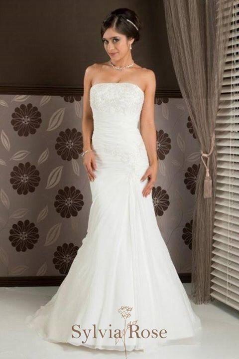Sylvia Rose | Style Azure | Top seller | Wedding gown | Bridal dress | Strapless neckline |