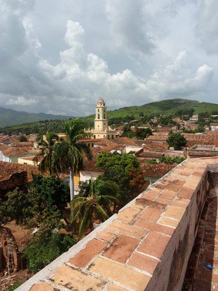 La encantadora ciudad de Trinidad en Cuba. Uno de los cascos históricos mejor conservados de toda la isla
