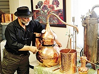 Make your own essential oils. The Essential Oil Company offers classes on distillation, using a variety of distillation equipment including copper alembic distillers. Visit  http://www.essentialoil.com