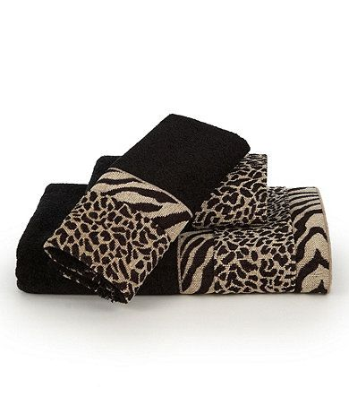 Best Cheetah Print Bathroom Images On Pinterest Cheetah Print - Zebra bath towels for small bathroom ideas