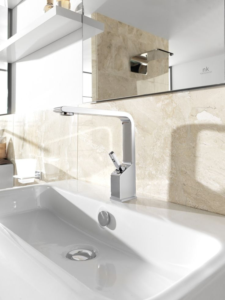 soft the ergonomic bathrooms tap collection by noken porcelanosa noken