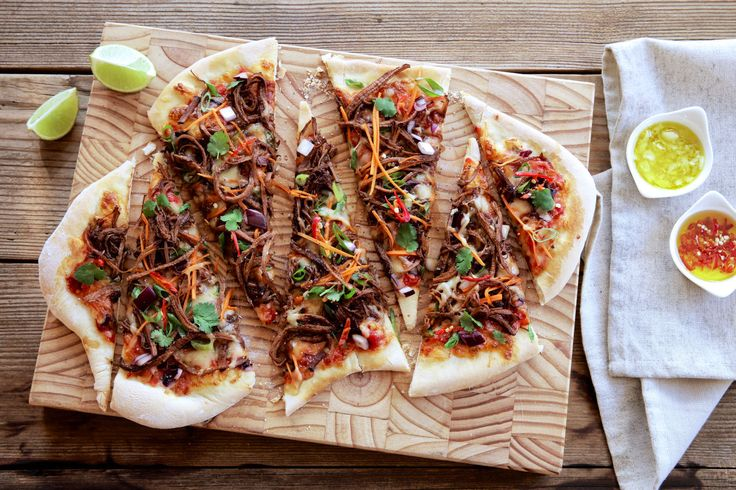 Korean BBQ Pizza - Make delicious beef recipes easy, for any occasion