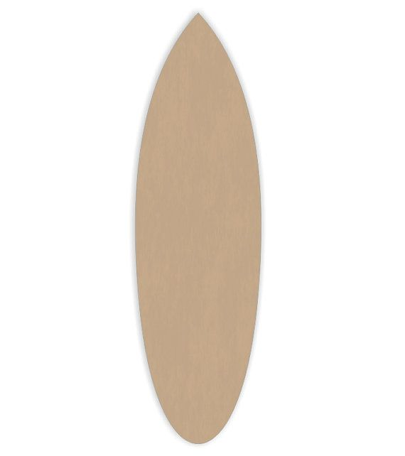 Quantity Three 24 long Surfboards Craft Cutout by WoodCraftCutouts, $17.95