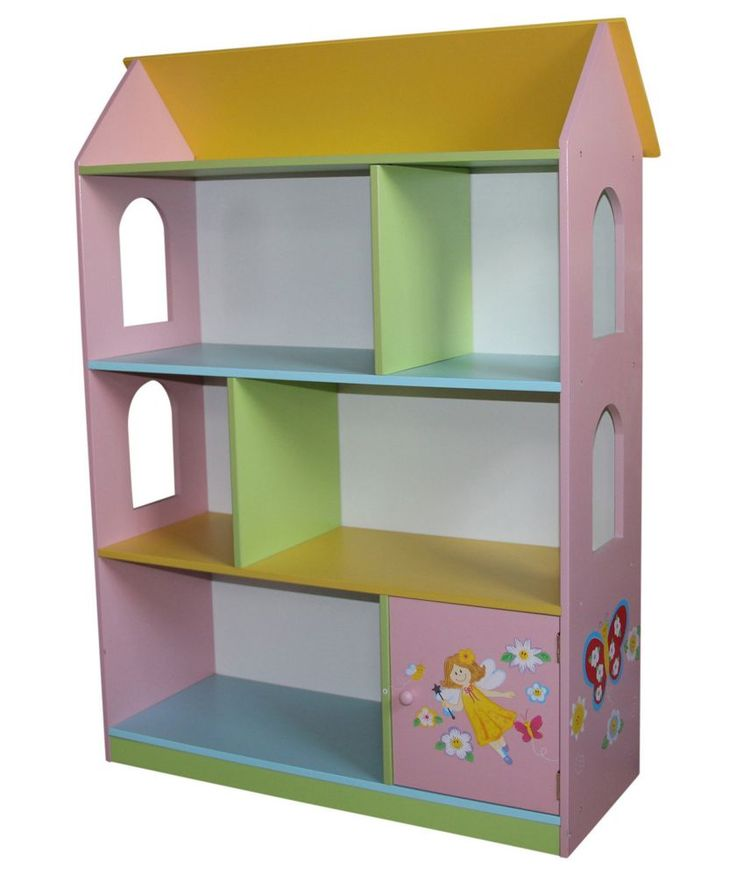 New Bookcase Toy Box White Finish Bedroom Playroom Child: 7 Best Images About Dollhouse Bookshelf On Pinterest