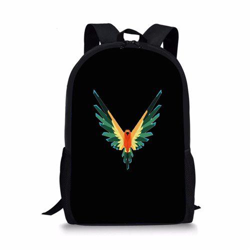 e0a1cc0fec Jake Paul logan backpack Bag WINGS logang Jp youtuber Team 10 MAVERICK  Savage School www.