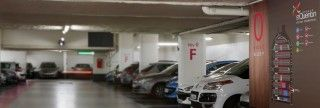 #Signalétique du #parking du centre commercial Saint Quentin en Yvelines, conçue par l'agence de design #AKDV et réalisée par #Megamark http://www.megamark.fr