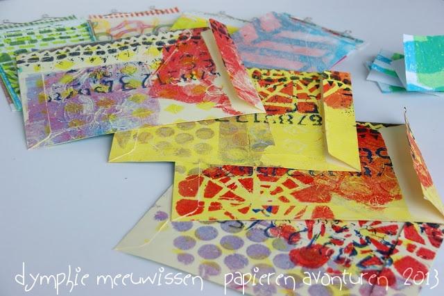 Papieren Avonturen: enveloppen voor enveloppen envelopes for envelopes
