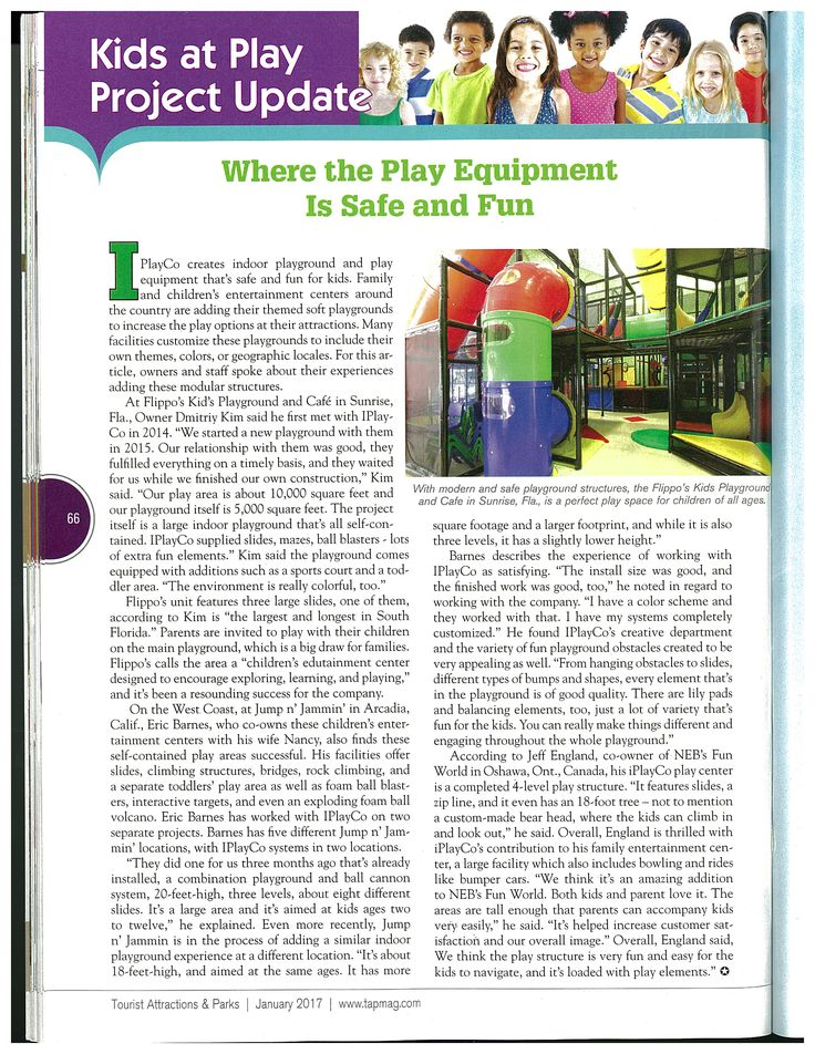 Recent article - Kids at Play Project update - Where the Play Equipment is Safe and Fun  -  #weBUILDfun #Iplayco #PlayEquipment #Safe&Fun
