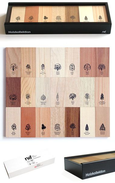 Wood & Tree Identification Collection from Naef.