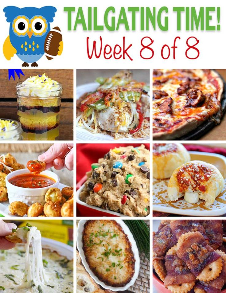 Tailgating Food Ideas Week 8 {of 8}  The last of an eight week series providing you with uh-mazing food for your football games!  From sweet to savory, we've got you covered!