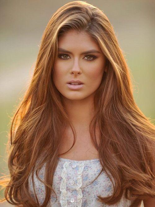Lange braune Frisuren für Frauen – Trend Frisuren Stil – Asta Butter
