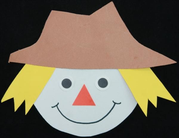 scarecrow 2 preschool art project instructions fun facts and required supplies - Halloween Toddler Art Projects