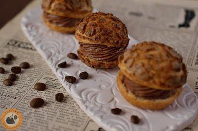 Praliné Paradicsom: Ropogós kávés fánkocskák mogyorómousse-szal
