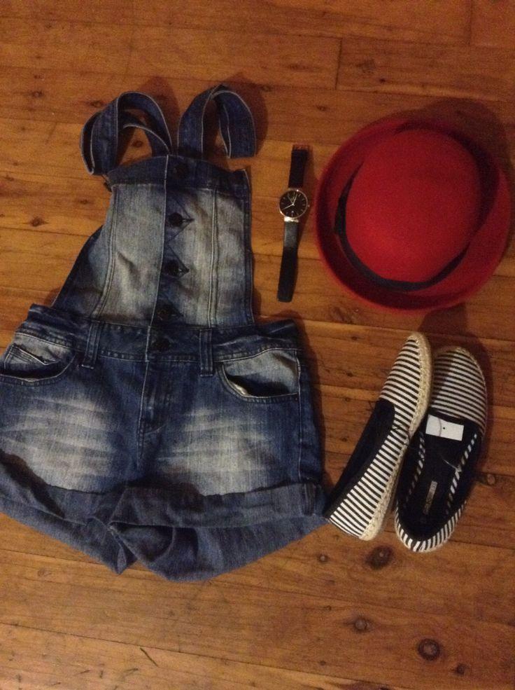 The 80's are back baby; overalls target, watch obaku, shoes target, bowler hat valley girl.