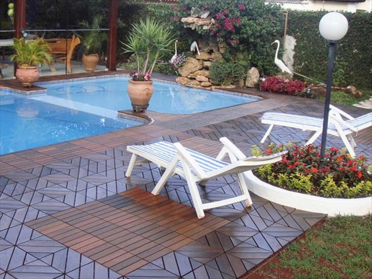 Wood Deck And Patio Interlocking Tiles ~ Builddirect interlocking deck tiles wood dubai