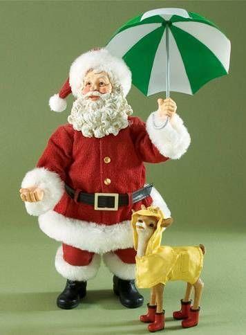 2009-CLOTHTIQUE-Santas-Raindeer-REINDEER-RAINCOAT-NIB