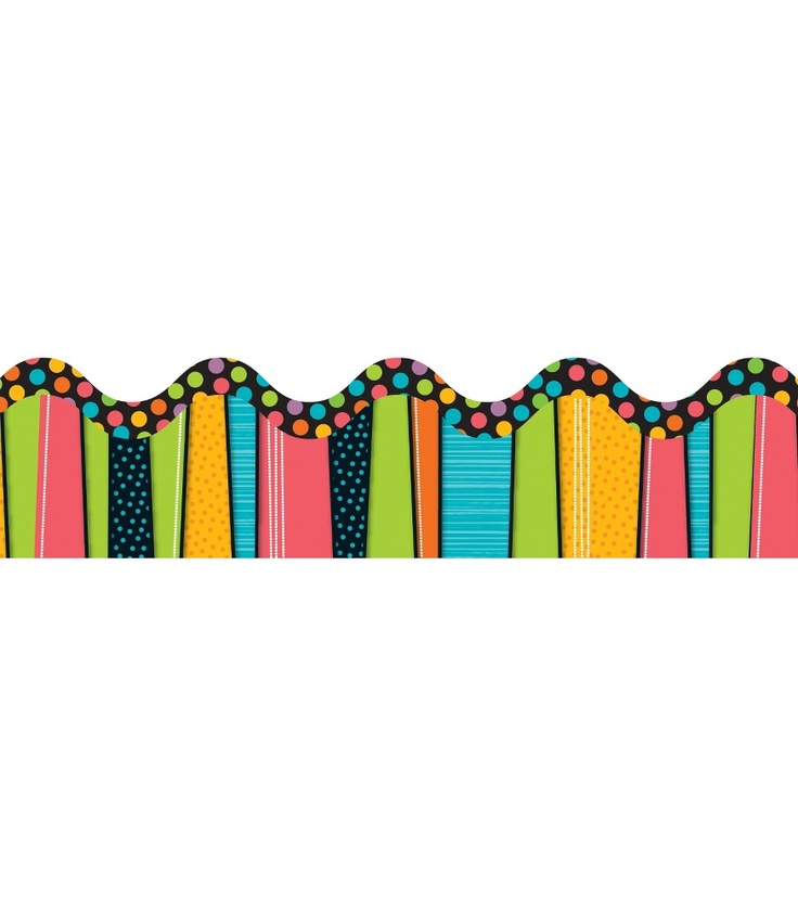 Stylin' Stripes Borders Grades up to 12 / Ages up to 1 13 strips $2.99