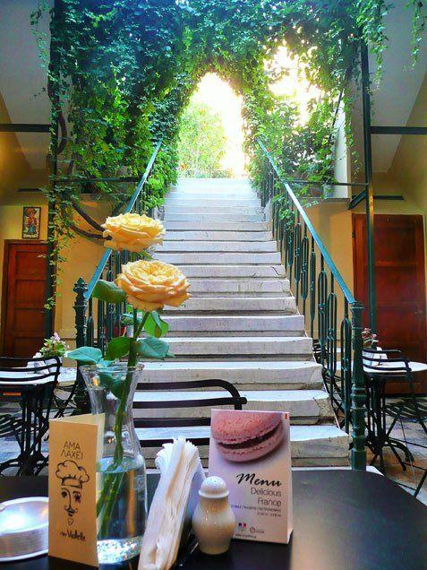 Αμα λάχει Chez Violette - γαλλικο ρεστο-μπιστρο με εξαιρετικες τιμες