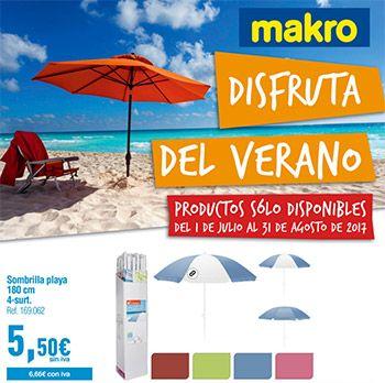 Catálogo Makro ofertas Especial Sol y Playa -  Ofertas especial sol y playa en verano del 1 al 31 de agosto de 2017 Disfruta del verano: Sombrilla playa 1,80cm 5,50€, Barca Zodiac 24€, piscinas hinchables, tabla de surf…. Ver ofertas   Barcas Zodiac                                                  RebajasTOP VENTAS  1                  ... #CatálogosMakro, #Catálogosonline   Ver en la web : https://ofertassupermercados.es/catalogo-makro-ofertas-especial-sol-pl