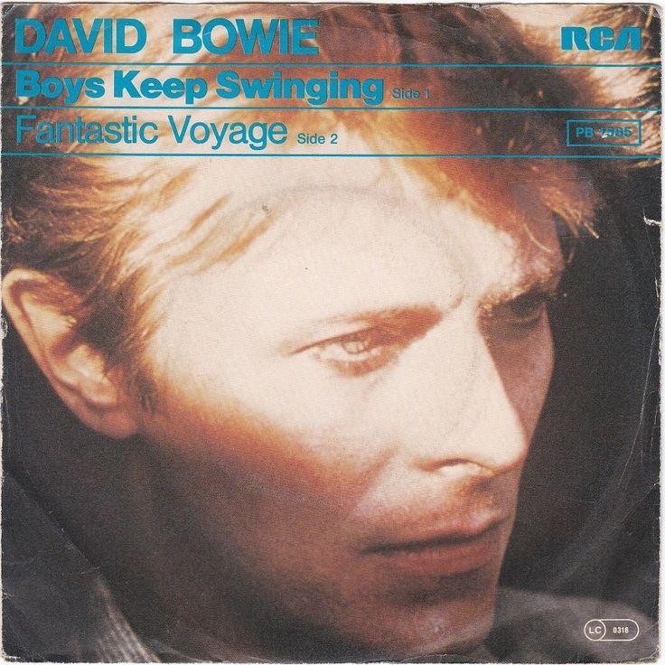 David Bowie - Boys Keep Swinging, german pressing, unique sleeve, rare, c.1979