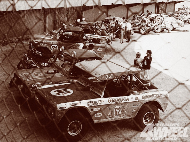 Big oly classic bronco racer