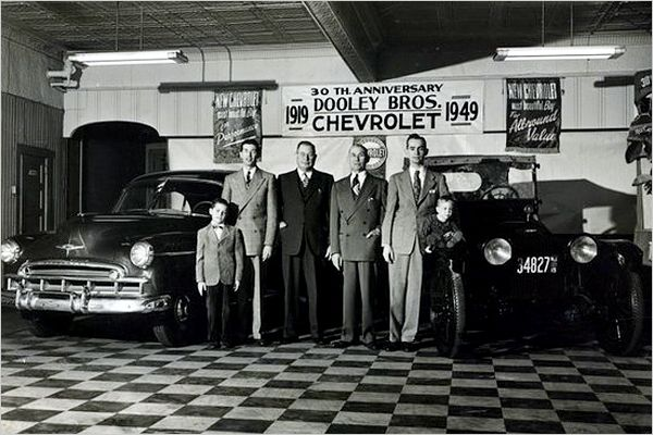 1949 Dooley Bros Chevy Dealer What Makes Us Pinterest
