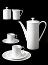 Porcelain coffee service (designed by Heinrich Löffelhardt) (4 works) by Willi Moegle