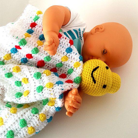 Crochet Legoman security blanket. Lego blankie. by LilCuddles