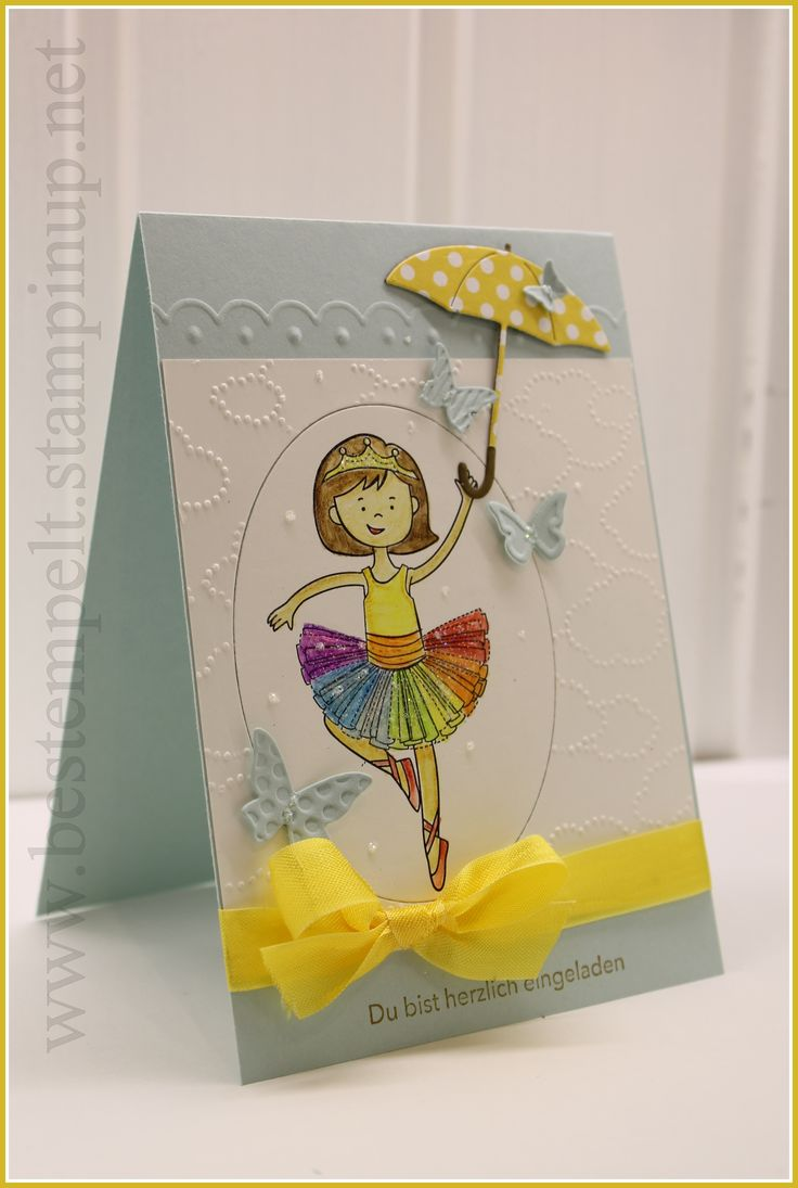 Stampin Up! Stylin Girl, Rainbow Party, Birthday Party