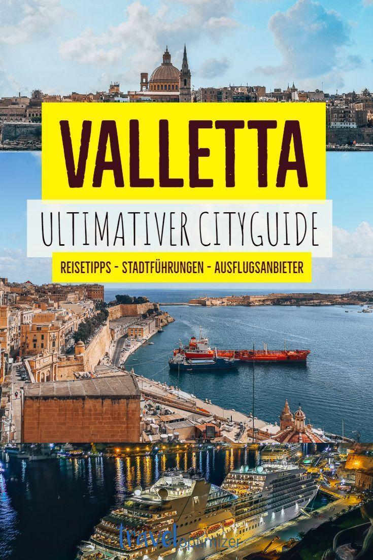 Valletta Auf Malta Die Top Sehenswurdigkeiten Mit Karte Blog Reisen Gozo Urlaub Malta Urlaub