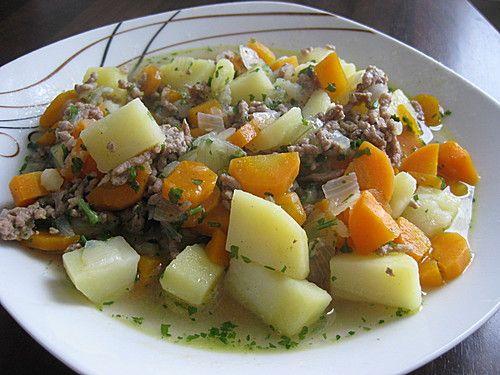 Hackfleisch - Kartoffel - Möhren - Eintopf