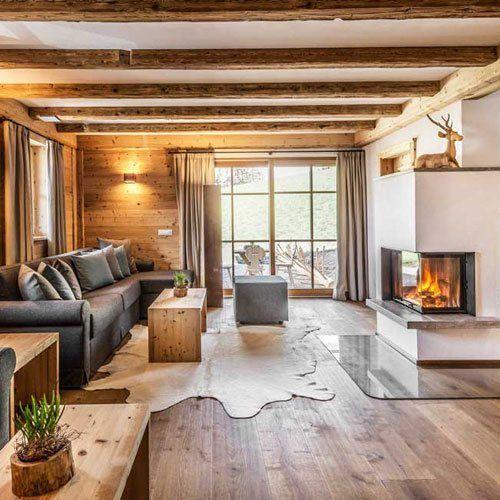 Modernes Chalet Landhausstil Skandinavischer Alpenstil