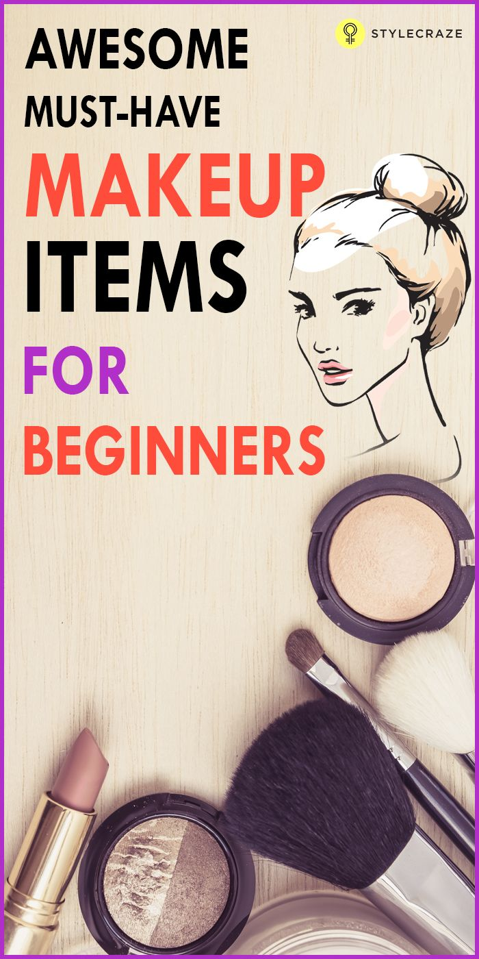 Makeup Must Haves For Beginners: 25+ Best Ideas About Makeup Items On Pinterest