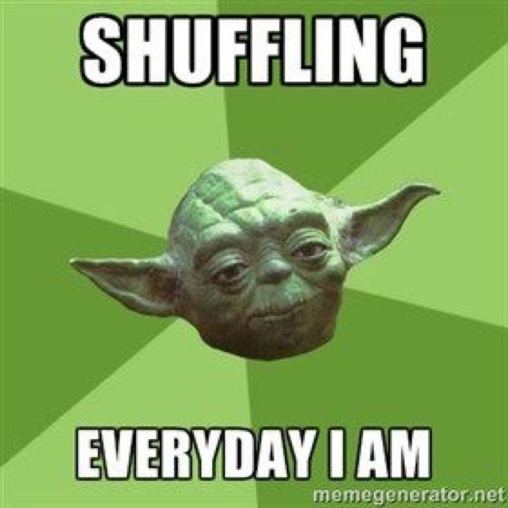 how to stop theme shuffling