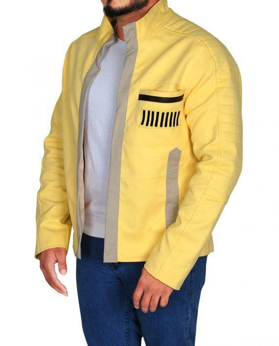 Luke Skywalker Star Wars Yellow Jacket Top Celebs Jackets Star Wars Jacket Jacket Tops Jackets