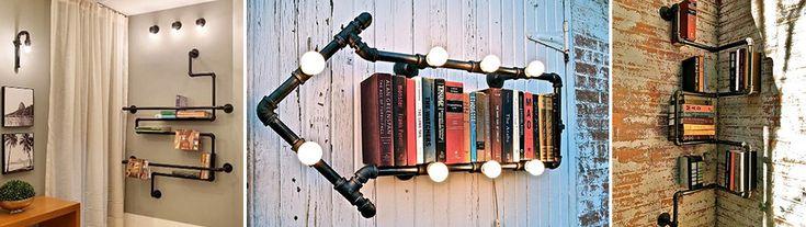 Prateleiras para livros são fáceis de fazer. Veja aqui como fazer prateleiras criativas para seu quarto. Caixas, molduras e malas. Leia e faça a sua!