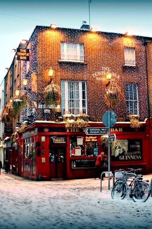 Dublin!  Best European country for beer & good company!