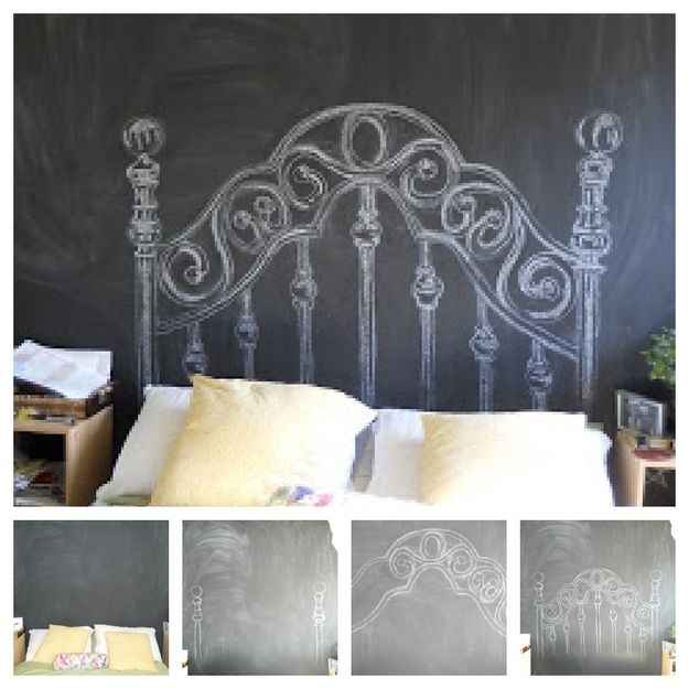 24. Headboard | 33 Things You Can Turn Into Chalkboards