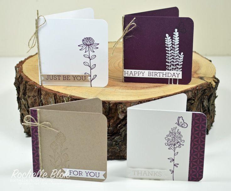 The Stamping Blok: The Inkreators Blog Hop - Sale-a-bration Sneak Peek using Flowering Fields - Rochelle Blok